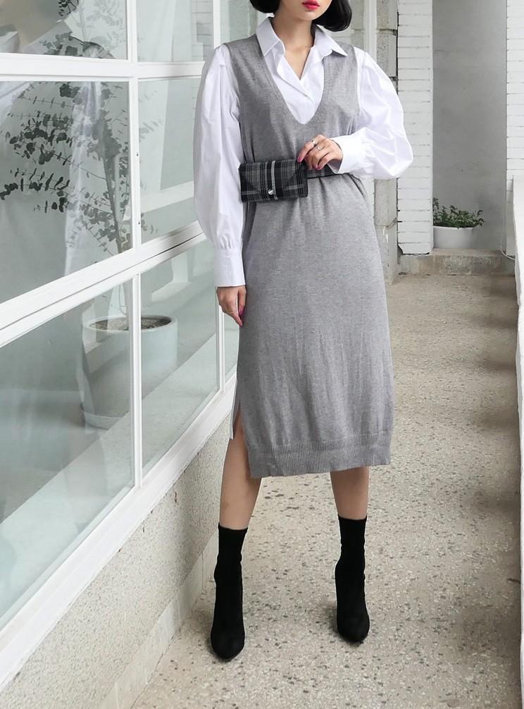 Váy dệt kim – chiếc váy mềm mại, đầy quyến rũ mà các nàng không thể làm ngơ trong những ngày trời se lạnh - 6