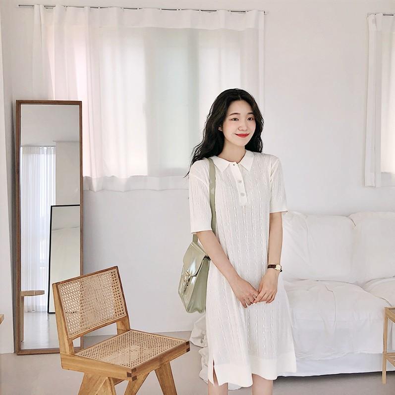 Váy dệt kim – chiếc váy mềm mại, đầy quyến rũ mà các nàng không thể làm ngơ trong những ngày trời se lạnh - 8