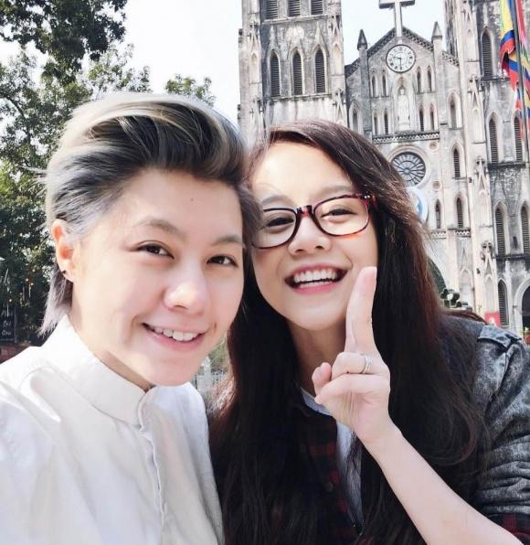 Vừa tuyên bố yêu Kiều Minh Tuấn, An Nguy bị tố có người yêu đồng tính ở mỹ?