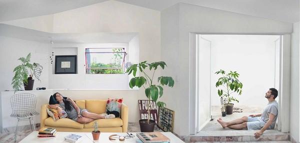 Không gian sống đẹp 'lộng lẫy' cải tạo từ ba ngôi nhà cũ - 10