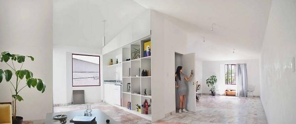 Không gian sống đẹp 'lộng lẫy' cải tạo từ ba ngôi nhà cũ - 11