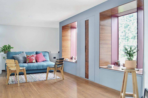 Không gian sống đẹp 'lộng lẫy' cải tạo từ ba ngôi nhà cũ - 13