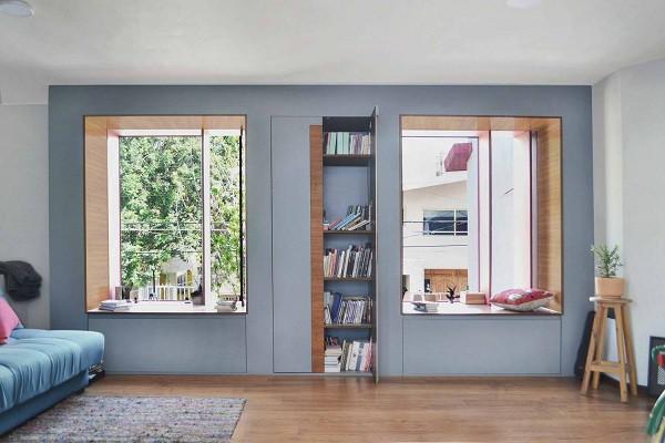 Không gian sống đẹp 'lộng lẫy' cải tạo từ ba ngôi nhà cũ - 14