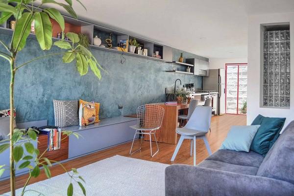 Không gian sống đẹp 'lộng lẫy' cải tạo từ ba ngôi nhà cũ - 5