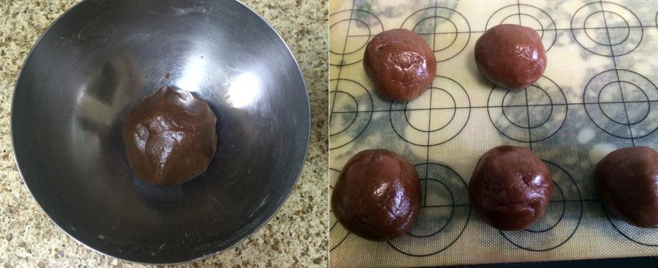 Lạ ngon món bánh Trung thu vị phô mai chocolate - 2