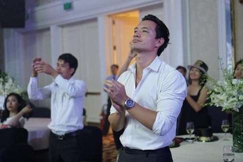 Yên tâm giao Subeo cho Kim Lý, Hà Hồ máu lửa trong buổi biểu diễn đón năm mới