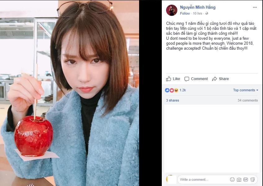 Các sao Việt gửi lời chúc mừng năm mới 2018 tới người thân, bạn bè và người hâm mộ