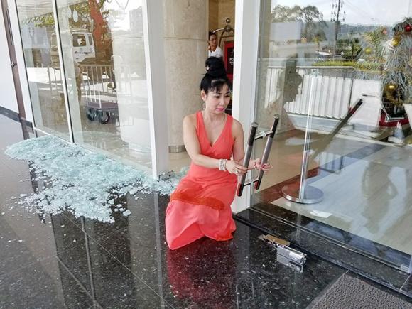 Nữ diễn viên Uyên Thảo suýt chết trong vụ nổ ở Phú Quốc vào đúng ngày cuối cùng của năm