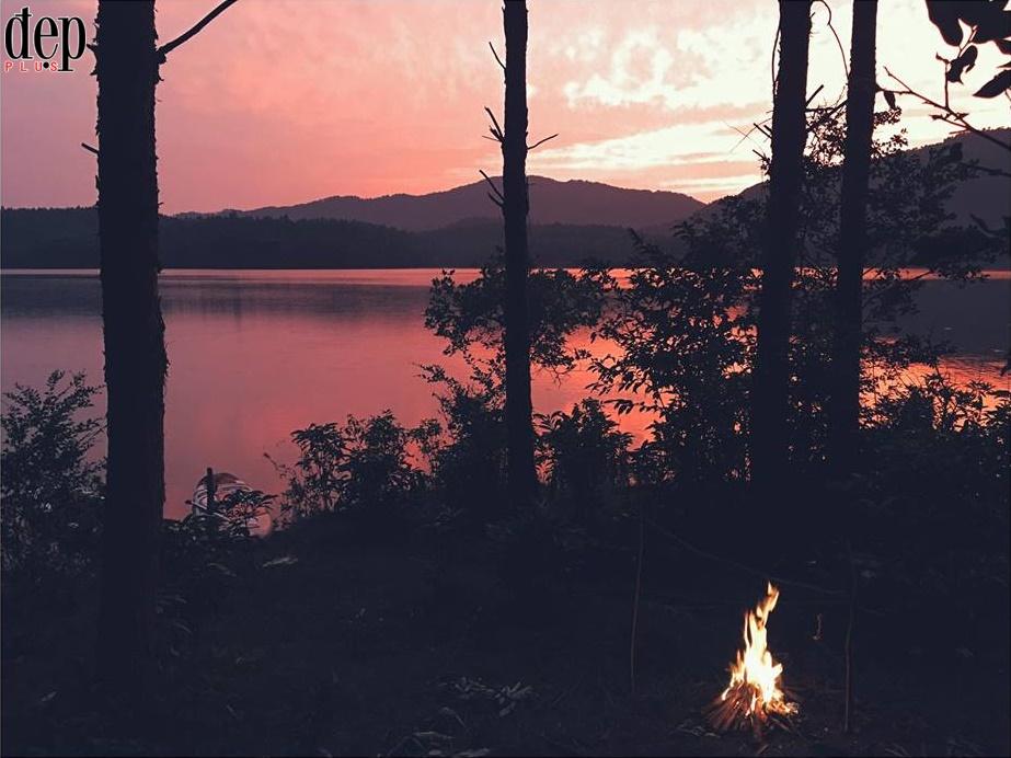 Hồ Xạ Hương - nàng tiên ẩn mình giữa đất trời Tam Đảo