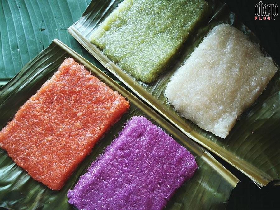 Ôn lại hương vị tuổi thơ với cách làm bánh tằm khoai mì cốt dừa cực đơn giản