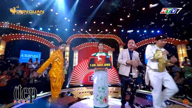Thách thức danh hài Mùa 4 Tập 9: Cô gái mặt đơ hát đúng một bài khiến Trấn Thành, Trường Giang cười bò, ẵm nguyên 100 triệu