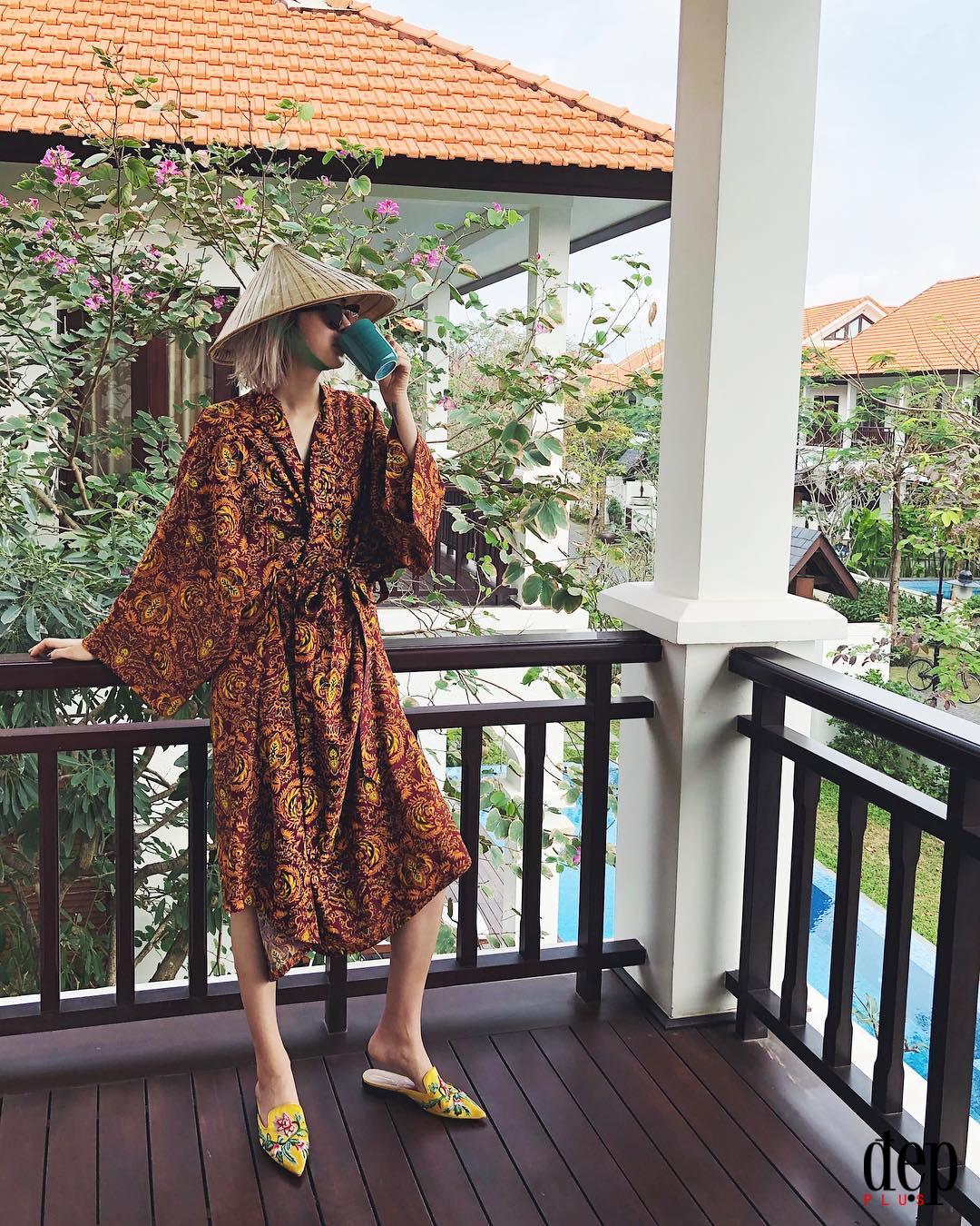Fashionista đình đám nhất Xứ Hàn khoe style chất lừ trên đường phố Việt Nam