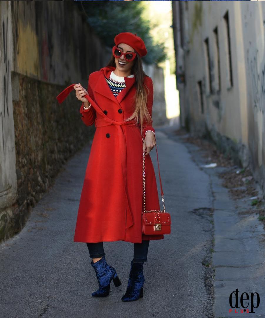 Kết hợp trang phục với boots nhung chuẩn trend không lo dừ