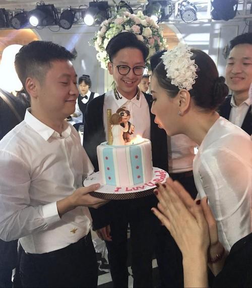 Ông xã đại gia tổ chức sinh nhật xa xỉ cho MC Mai Ngọc