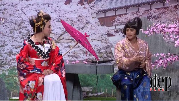 Ơn giời cậu đây rồi Mùa 4 Tập 8: Vừa cầu hôn Nhã Phương, Trường Giang lại kéo váy, bạo dạn ôm ấp Ái Phương