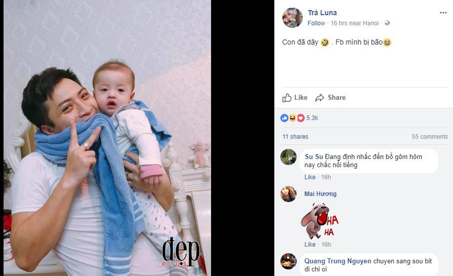 Ông bố của năm: Cắn chặt khăn ăn mừng chiến thắng của U23 Việt Nam vì sợ con nhỏ thức giấc