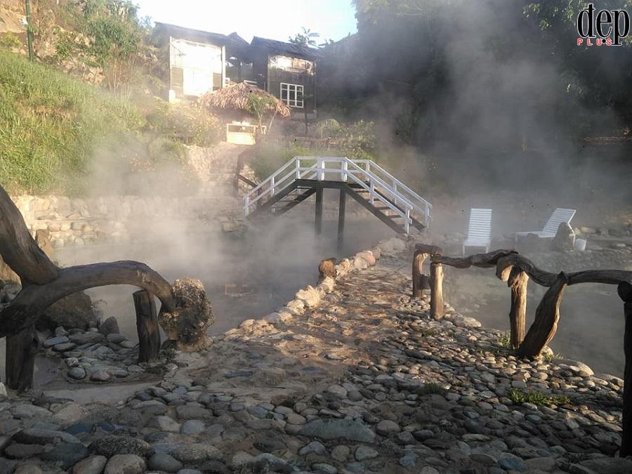 Suối nước nóng Trạm Tấu - địa điểm không thể bỏ lỡ mùa đông năm nay