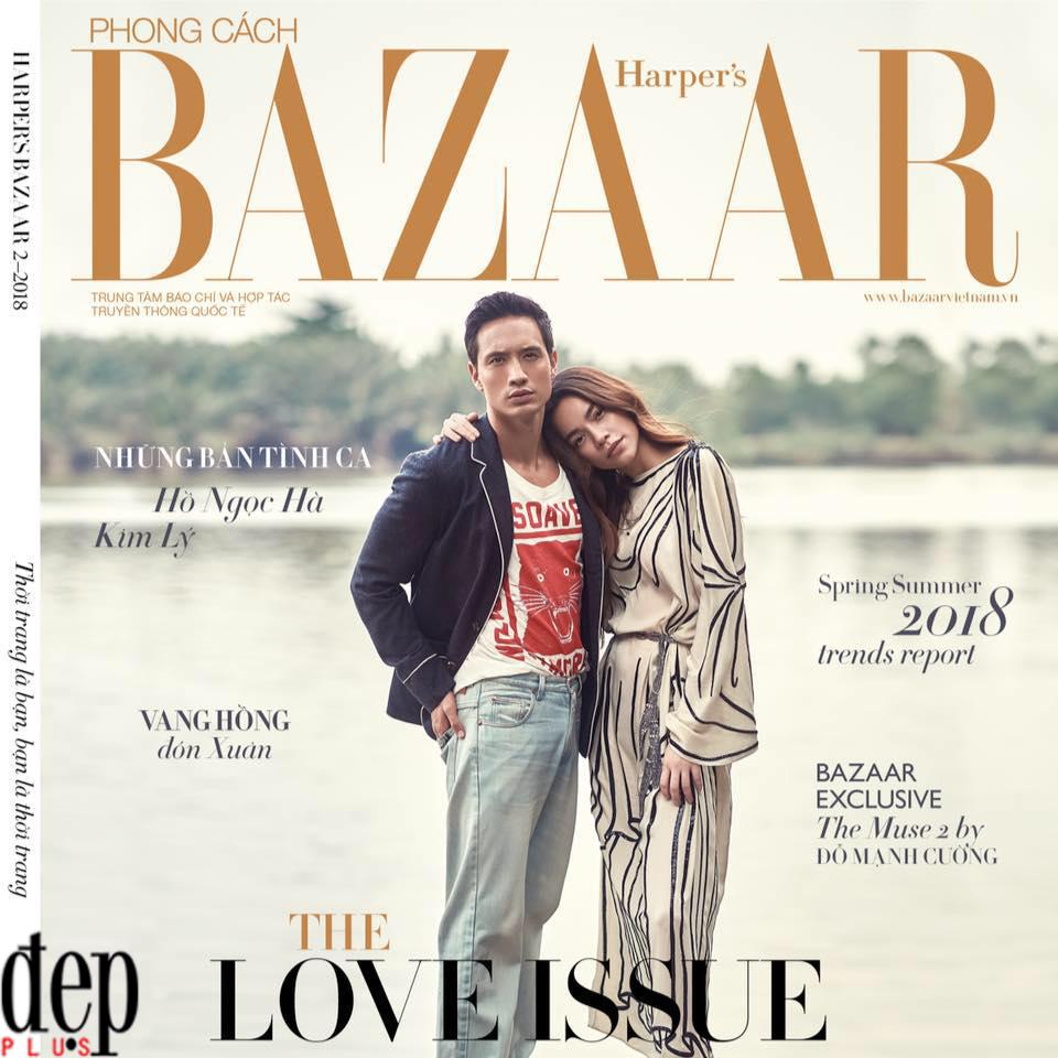 Chụp ảnh bìa tình tứ kèm caption ẩn ý, Hồ Ngọc Hà và Kim Lý sắp về một nhà?