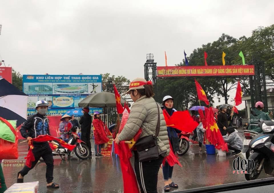 Không khí cổ vũ cuồng nhiệt trước thềm chung kết giữa U23 Việt Nam và U23 Uzbekistan