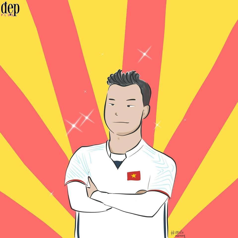 Tổng hợp những fanart cực kì đáng yêu của người hâm mộ dành cho đội tuyển U23 Việt Nam