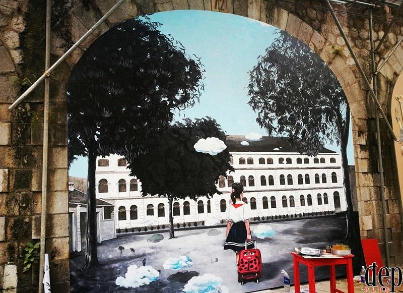 Hà Nội: Phố bích họa Phùng Hưng sẽ hoàn thiện trước Tết Nguyên đán