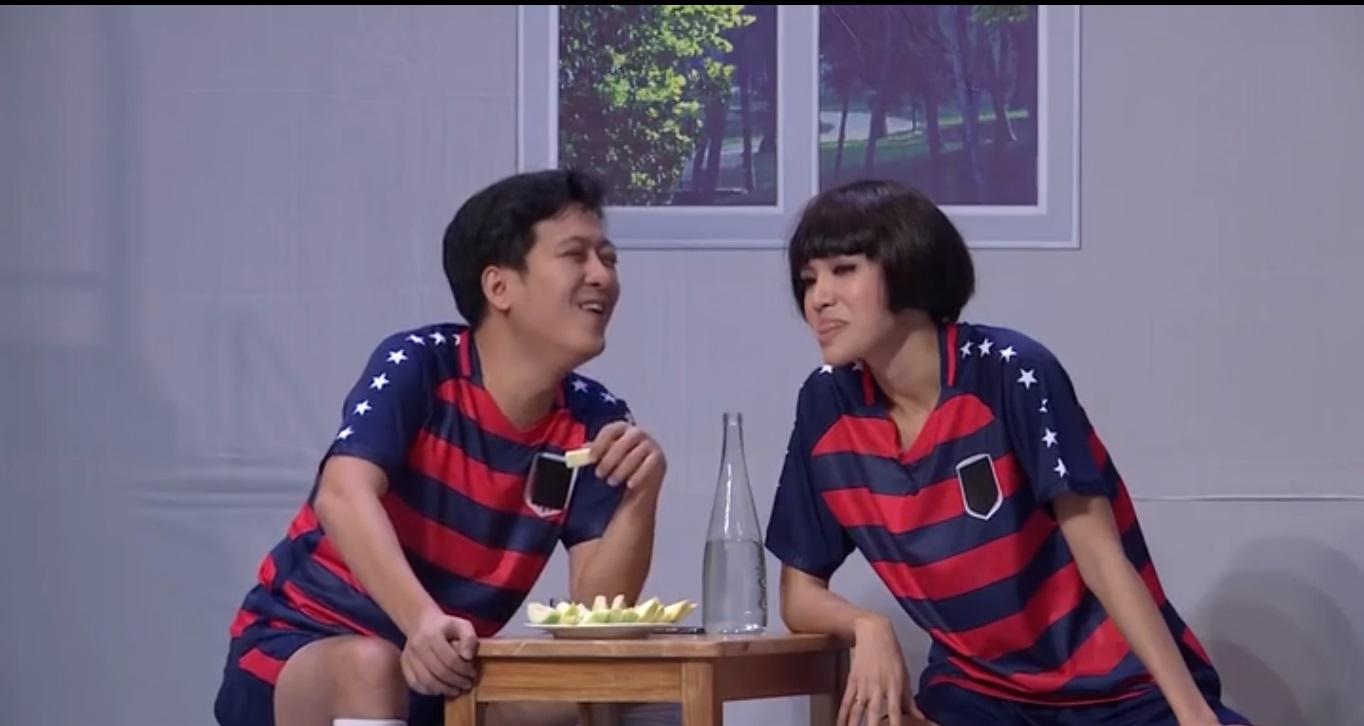 Ơn giời cậu đây rồi Mùa 4 Tập 6: Trấn Thành thay Xuân Bắc làm MC, Trường Giang lại ôm ấp gái đẹp Minh Tú