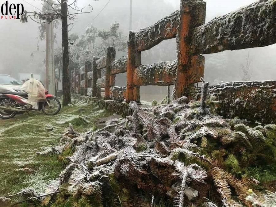 HOT: Trời lạnh đỉnh điểm, Sa Pa đã có tuyết rơi!