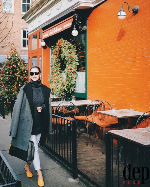 7 set đồ layering với áo khoác dạ dài cho nàng công sở mặc cả tuần không lo nhàm chán