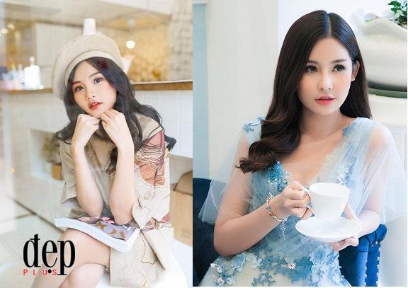 Ngỡ ngàng trước nhan sắc giống nhau đến kỳ lạ của Thí sinh Miss Teen 2017 và Hoa hậu Đại Dương Ngân Anh
