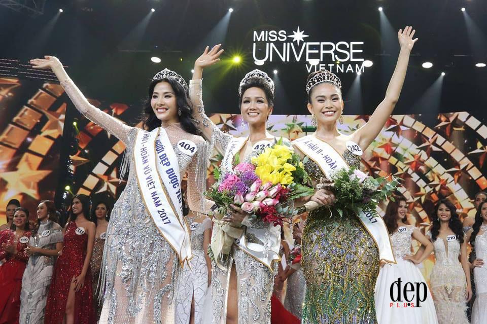 BẤT NGỜ CHƯA: Á hậu 2 Hoa hậu Hoàn vũ Việt Nam 2017 từng là giám khảo chấm điểm Tân Hoa hậu!