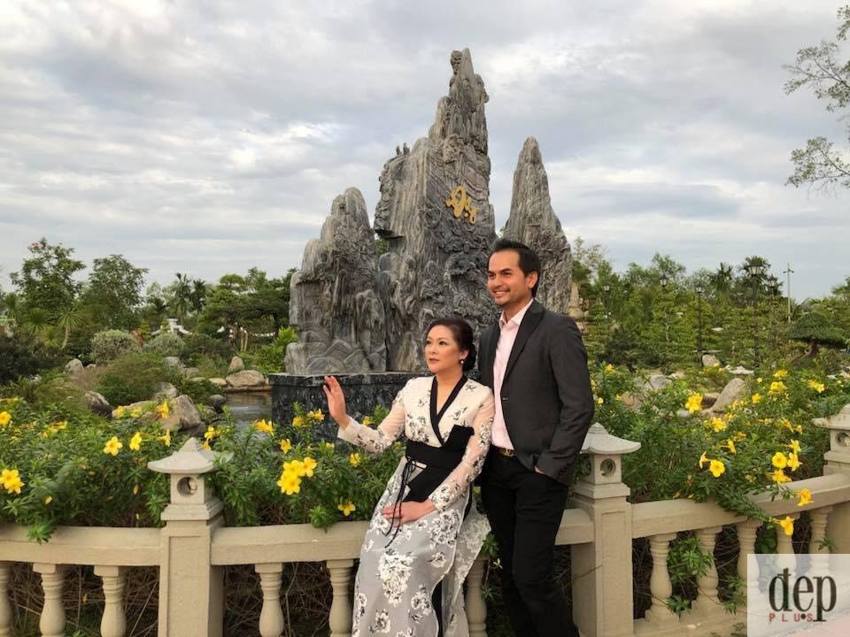 Hình ảnh mới của Như Quỳnh khi thăm nhà thờ tổ của Hoài Linh khiến khán giả bất ngờ