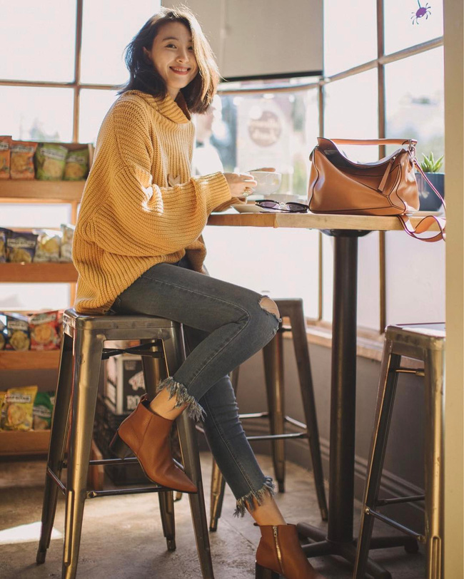 15 gợi ý cho thấy boots thấp cổ là item phải có trong mùa lạnh vì kết hợp kiểu gì cũng đẹp và sang - 4