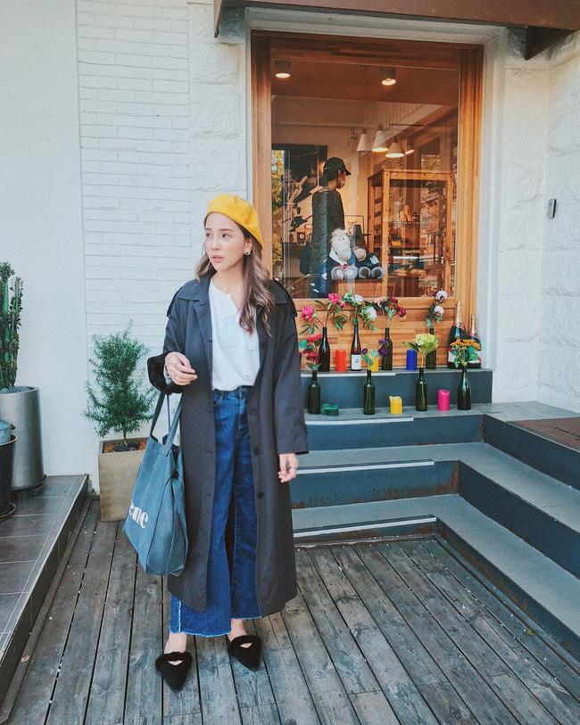 15 công thức diện áo trench coat đẹp miễn chê, xứng đáng để các nàng áp dụng suốt mùa đông này - 11