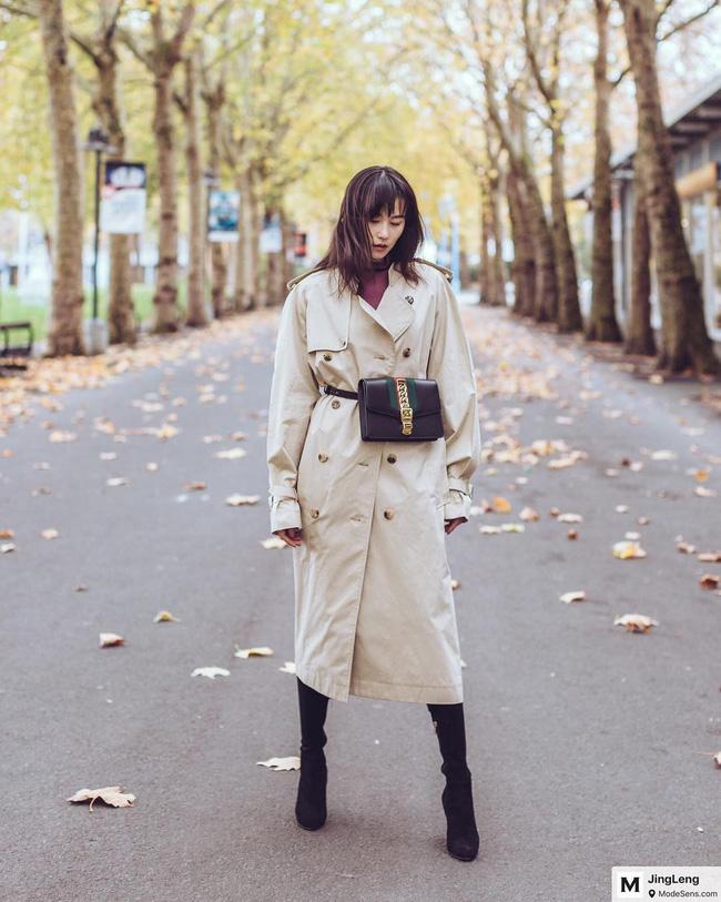 15 công thức diện áo trench coat đẹp miễn chê, xứng đáng để các nàng áp dụng suốt mùa đông này - 5