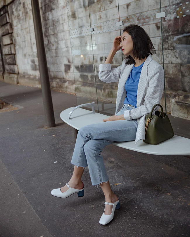 'Ngôi sao' của mùa đông chính là quần jeans và 15 set đồ sau sẽ giúp các nàng biến hóa tài tình với item này - 10