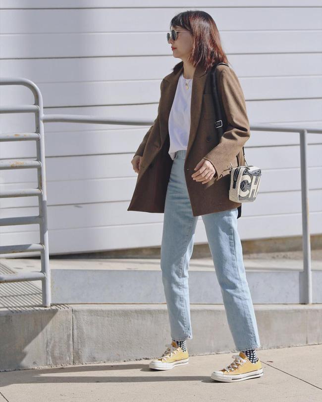 'Ngôi sao' của mùa đông chính là quần jeans và 15 set đồ sau sẽ giúp các nàng biến hóa tài tình với item này - 14