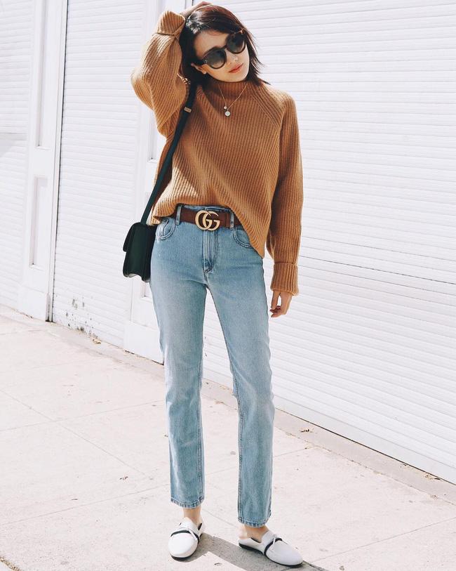 'Ngôi sao' của mùa đông chính là quần jeans và 15 set đồ sau sẽ giúp các nàng biến hóa tài tình với item này - 3
