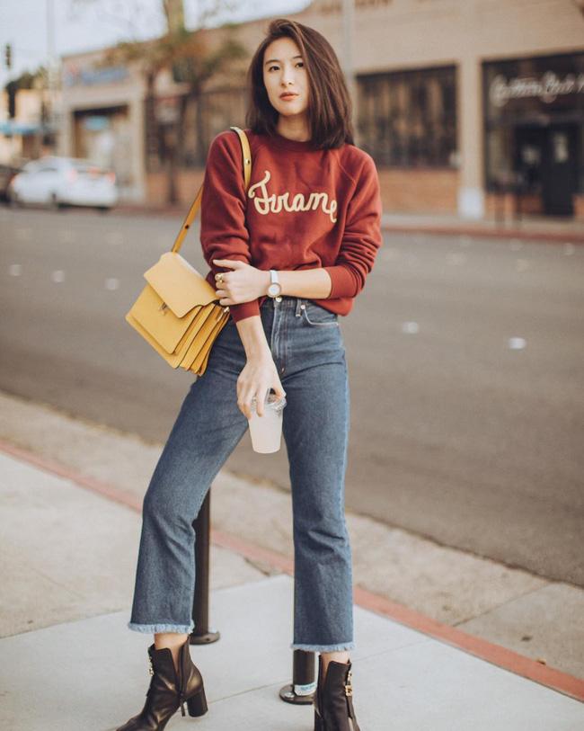 'Ngôi sao' của mùa đông chính là quần jeans và 15 set đồ sau sẽ giúp các nàng biến hóa tài tình với item này - 7