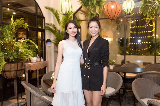 Cuộc gặp hiếm có của các đại diện Việt thi Hoa hậu Quốc tế: Nguyễn Thúc Thùy Tiên đẹp dịu dàng bên đàn chị - 3