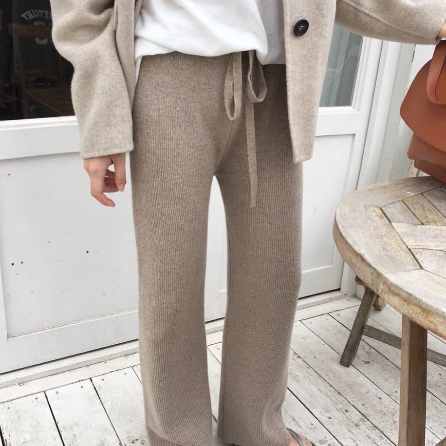 Diện lên vừa 'tây' lại thoải mái tuyệt đối, quần len chính là item mà các nàng cần sắm ngay cho tủ đồ mùa lạnh - 8