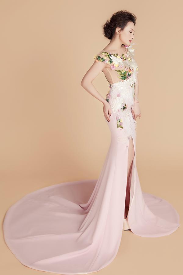 Nàng dâu quốc dân Bảo Thanh khéo léo khoe đường cong với đầm dạ hội kiêu sa