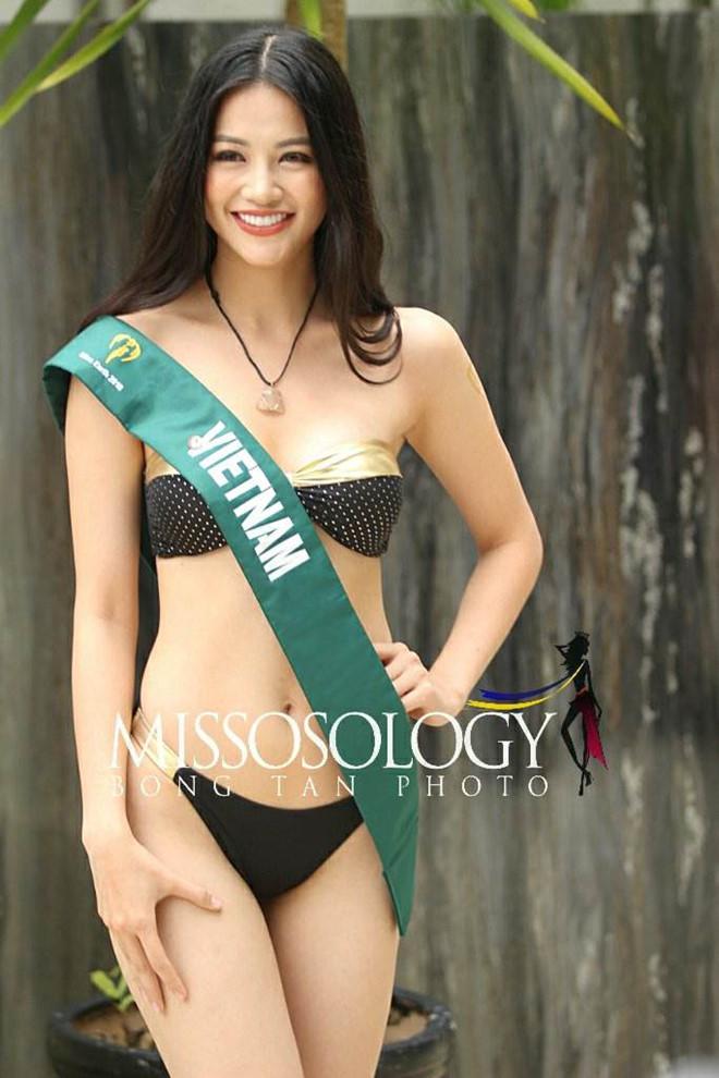 Đại diện Việt Nam giành giải vàng trang phục dân tộc ở Miss Earth 2018