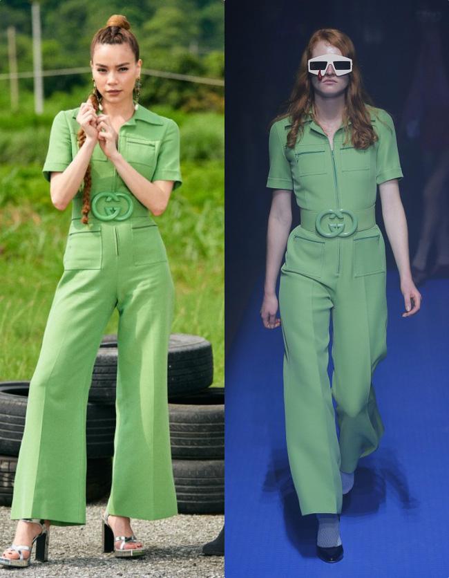 Hồ Ngọc Hà diện set đồ 130 triệu, 'chiếm sóng' màn thử thách các thí sinh tại Asia's Next Top Model - 6