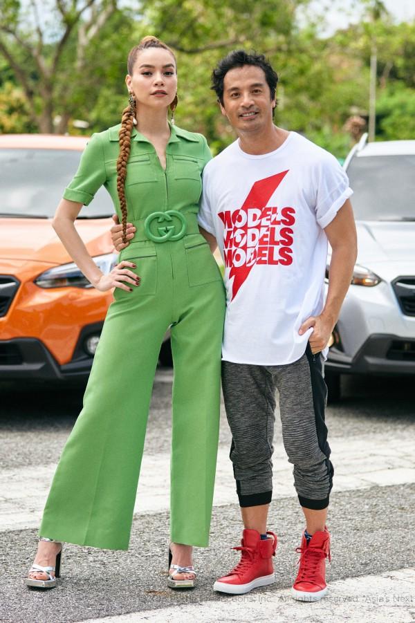 Hồ Ngọc Hà diện set đồ 130 triệu, 'chiếm sóng' màn thử thách các thí sinh tại Asia's Next Top Model - 1