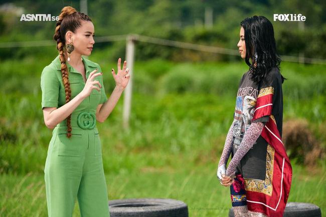 Hồ Ngọc Hà diện set đồ 130 triệu, 'chiếm sóng' màn thử thách các thí sinh tại Asia's Next Top Model - 3