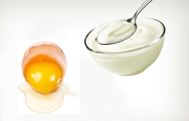 Mặt nạ trứng gà và sữa chua - Giải pháp cho da khô mềm mịn, trắng trẻo