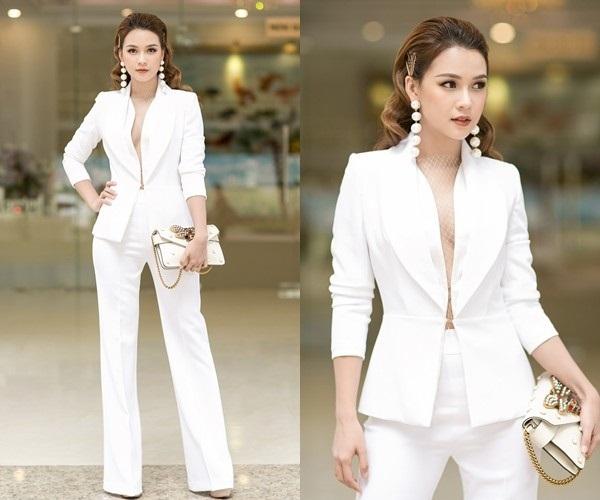 Thời trang suit đang trở thành street style của các quý cô thời thượng