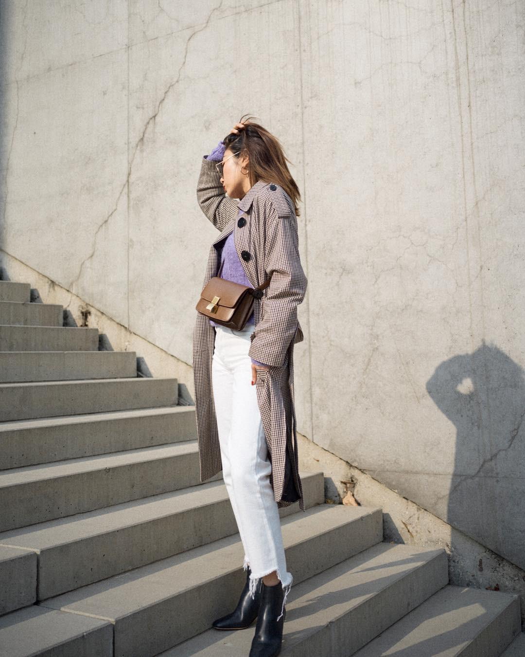 Có một kiểu quần mà các nàng cứ diện lên sẽ trẻ trung và nữ tính hơn bội phần, đó chính là quần jeans trắng - 13