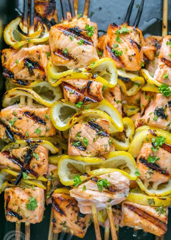 Cuối tuần đãi cả nhà món cá hồi xiên nướng vừa thơm ngon vừa bổ dưỡng - 5