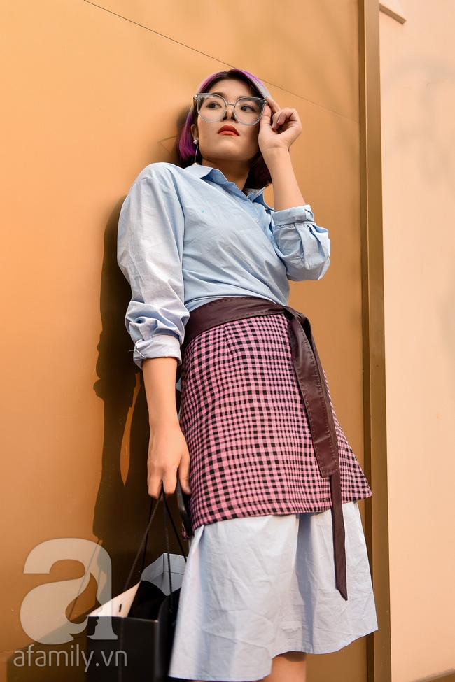 Street style cuối tuần: Quý cô hai miền chứng tỏ đẳng cấp khi biến hóa các items đậm chất công sở trở nên cuốn hút lạ thường